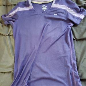 small NIKE drifit shirt